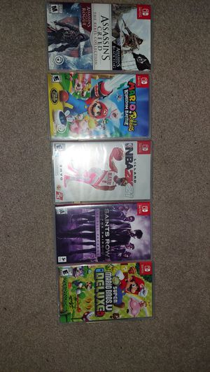 Nintendo switch games for Sale in Victorville, CA