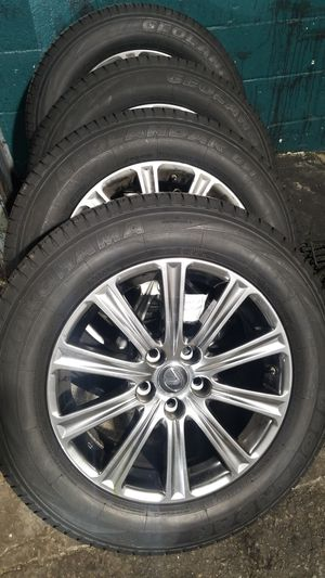 "17"" wheels with 2256517 tires for 2019 lexus for Sale in Washington, DC"