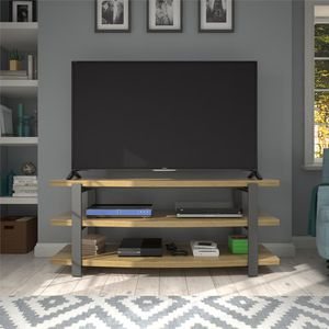 """TV Stand for TVs up to 70"""", Golden Oak for Sale in Alexandria, VA"""