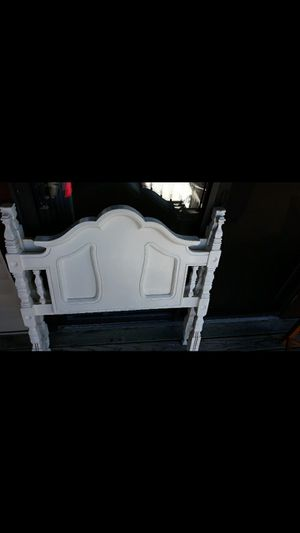 Solid wooden twin bed frame for Sale in Mooresville, IN