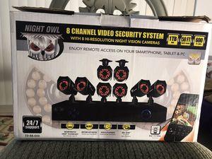 8 Hi-resolution night vision cameras for Sale in Miami, FL