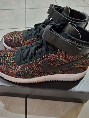 Nike Air Force 1 Ultra Flyknit Mid Size 10.5 for Sale in El Monte, CA