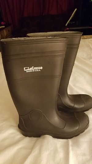 LaCrose Size 10 Rubber Boots for Sale in Bellflower, CA