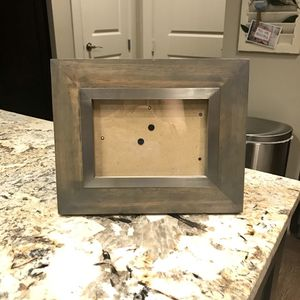 FREE Rustic, Wooden, Freestanding Picture Frame for Sale in Dallas, TX