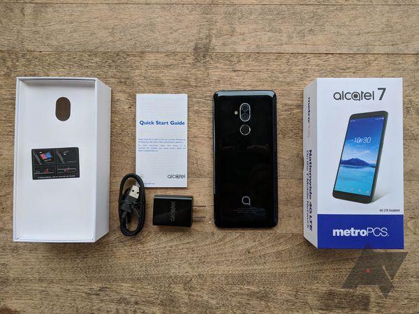 Unlocked Alcatel 7 (android phone)