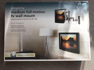 "19-40"" Full-motion TV wall mount *box never opened* for Sale in Denver, CO"
