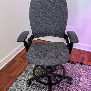 Steelcase Leap V2 Ergonomic Office Chair / Drafting Stool for Sale in Seattle, WA