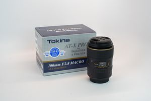 Tokina 100mm F2.8 Macro Lens for Canon EF for Sale in Orlando, FL