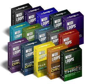 The Loop Loft – Midi Drum Loop Bundle (WAV, MIDI) for Sale in Houston, TX