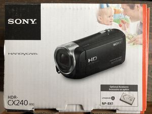 Sony Handycam HDR-CX240 for Sale in Clayton, NC