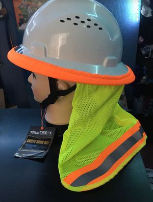 Safety Hard hat with Neck Shield for Sale in Los Angeles, CA
