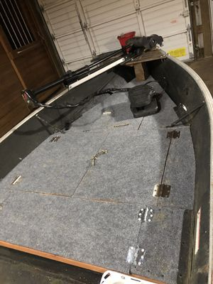 12ft mini bass boat for Sale in Yelm, WA