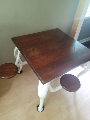 Antique icecream table furniture for Sale in Marietta, GA
