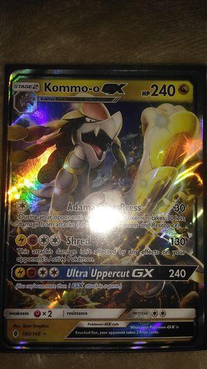 Kommo-o GX Pokemon Card (LP) for Sale in Piedmont, SC