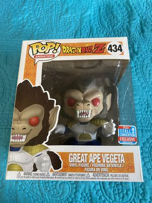 Funko pop DragonBall Z NYCC 2018 Great Ape Vegeta for Sale in Yonkers, NY