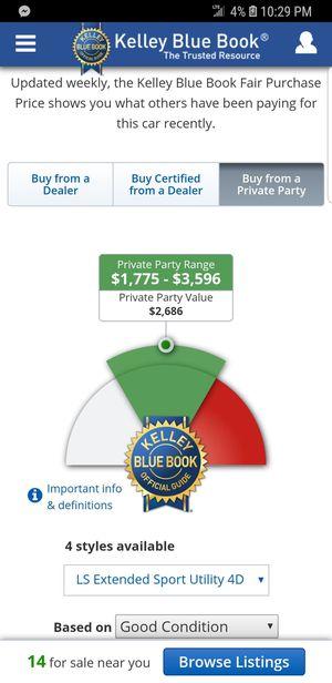 2004 Chevy trailblazer for Sale in Williamsport, PA