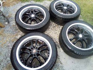 Rims. And tires for Sale in Angier, NC