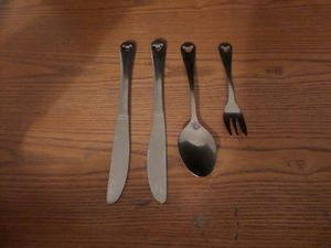 Stainless Steel Disney Flatware for Sale in Milford, MA