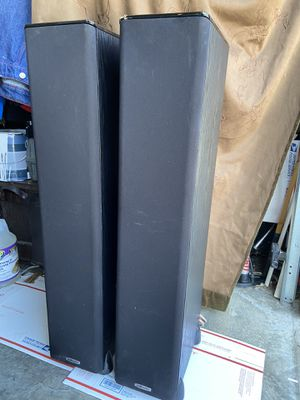 Polk Audio TSi 300 Black Tall Speakers Good Condition for Sale in Smoke Rise, GA