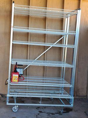 Metal shelf heavy duty shelve rack for Sale in Phoenix, AZ