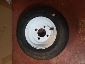 Trailer wheels and tires never used set of 2 for Sale in Princeton, FL