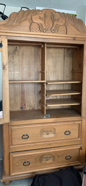 Armoire (Roper Clothing Display) for Sale in Norco, CA