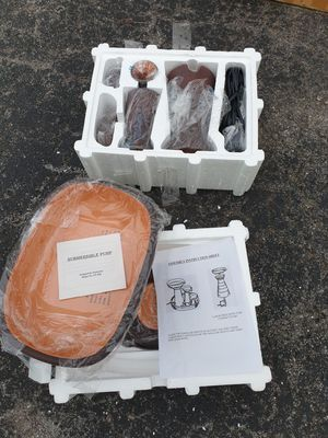 <<BRAND NEW IN BOX>>Terracotta Fountain with pump and rocks for Sale in Murfreesboro, TN