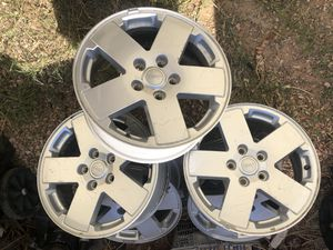 "Jeep Wrangler wheels 18"" for Sale in Goodyear, AZ"