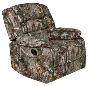 New!! Recliner, camouflage furniture, USB port, heater, massage chair, massage recliner for Sale in Phoenix, AZ