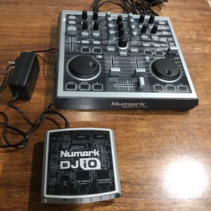 Numark Total Control With DJ IO Sound Card for Sale in San Jacinto, CA