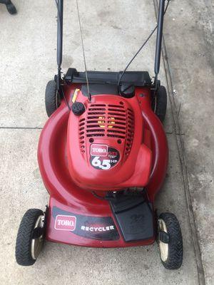 Toro 6.5hp front drive mower for Sale in Arlington, TX