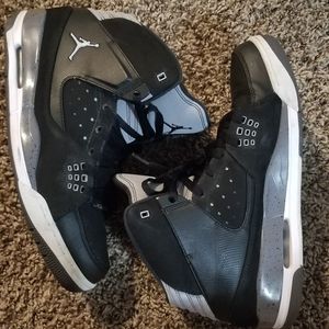 Nike Air Jordan SC-1 Mens Basketball Shoes Black/Gray Size 12 US for Sale in BETHEL, WA