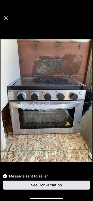 Greystone new rv stove for Sale in Melrose Park, IL