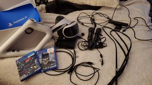 PS4 VR Bundle + Aim controller and 2 games $215 obo It's like brand you I take very good care of my stuff. Bought it all brand new. for Sale in Olympia, WA