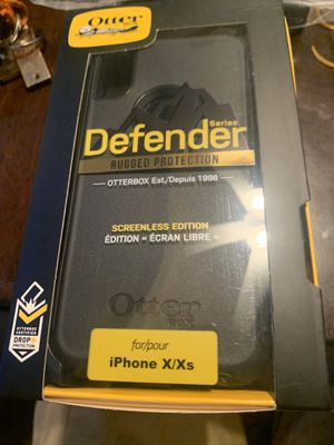 Apple iPhone X iPhone Xs Otter Box Defender Phone Case for Sale in Gilbert, AZ