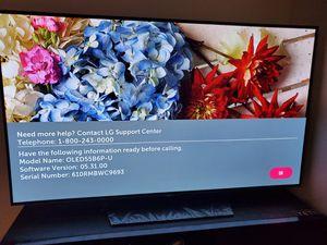 LG OLED SMAR TV 55inch flat-screen for Sale in Bellevue, WA