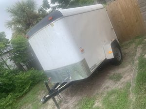 2017 Cargo Trailer 5x8 Great Condition for Sale in Holiday, FL