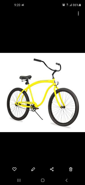 Yellow bike cruiser for Sale in Hialeah, FL