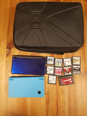 Nintendo DSi and DS Lite plus games for Sale in Santa Monica, CA