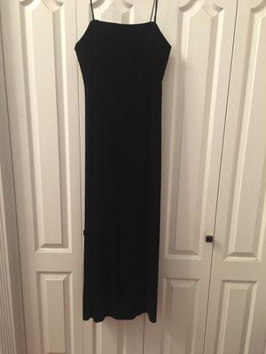 Black velvet strapless dress for Sale in Clovis, CA