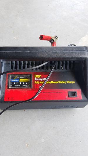 Everstart boating/TV 10amp fast charger for Sale in Hudson, FL