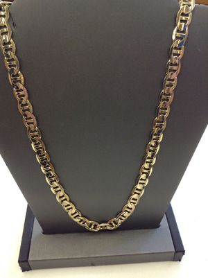 """14 Kt. YELLOW GOLD CHAIN GUCCI LINK 43 Grs. 20"""" (NO TRADES) for Sale in Aurora, CO"""