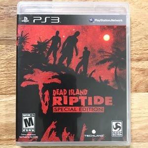Dead Island: Riptide - Special Edition PS3 Game for Sale in Banning, CA