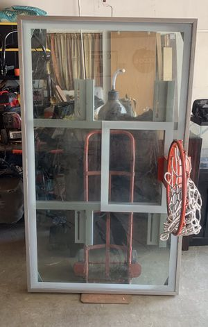 Professional basketball hoop all glass for Sale in Fresno, CA
