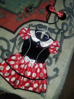 2T minnie mouse costume! for Sale in Madera, CA