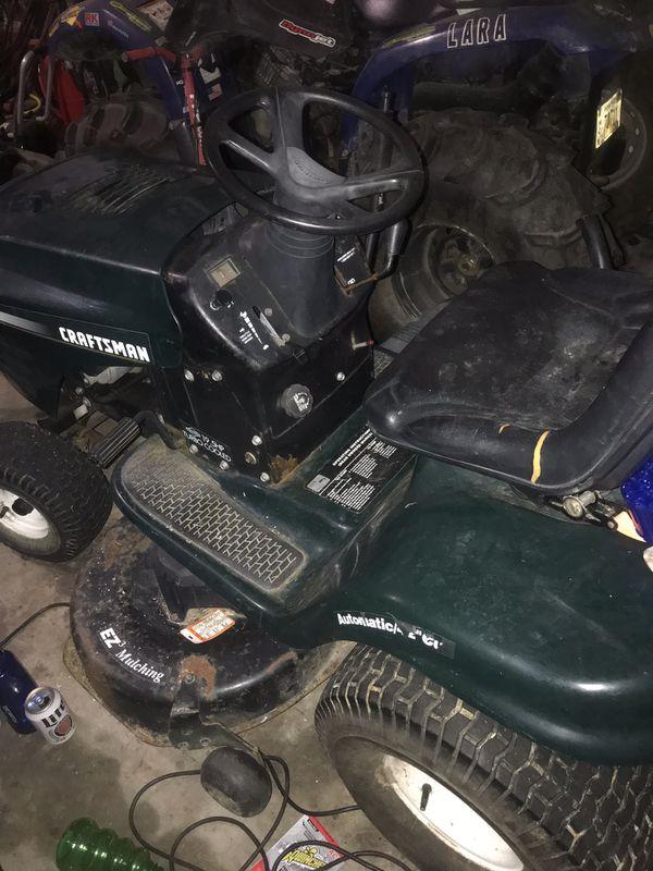 """Craftsman 42"""" Tractor"""