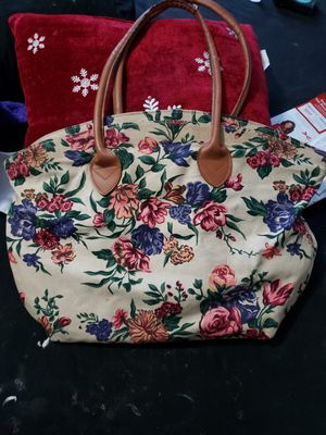 Floral tote for Sale in Baltimore, MD