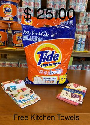 Tide Powdered With Downey -180 Wash Load for Sale in City of Industry, CA