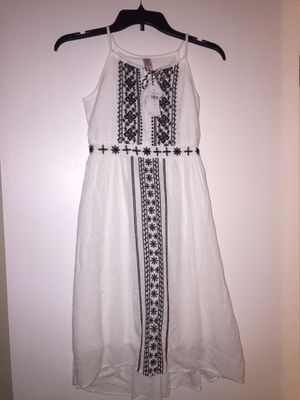 Justice embroidered dress size 8 for Sale in Winter Haven, FL
