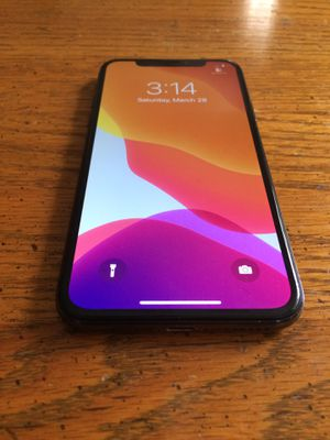 Att/cricket only -iPhone X 64gb $395 firm, No trade, pick up only for Sale in Sacramento, CA